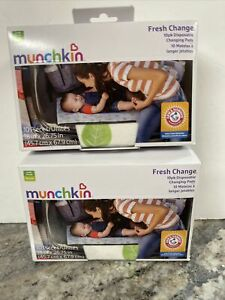Munchkin Arm & Hammer Disposable Changing Pads with Leak Proof Liner 20 Pc