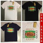 Gucci Mens T-Shirts w/ Tags Crew Neck Brand New w/ Tags USA Seller Free Shipping