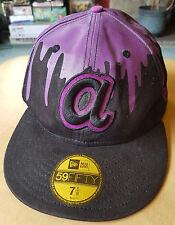 New Era 59 Fifty Casquette de baseball-MLB 60.6 cm VIOLET/NOIR. 100% coton
