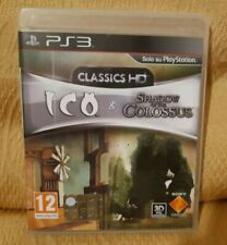 Ico & Shadow Of The Colossus Remastered HD Classic Ps3 PlayStation 3 PAL ITA