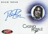 James Bond in Motion 2008 Daud Shah as Fisher Autograph Card A101