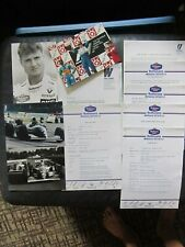 Williams Rothmans Factory Formula One Letter, Information Sheets, Photos.