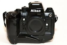 Nikon F4 35mm SLR Film Camera (Body Only) + MB 21 Motor Drive -GREAT CONDITION!