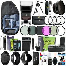 Canon T6i T6s/ 750D 760D Camera Everything You Need Accessory Kit 58MM Lens Kit