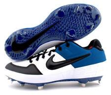 Nike Alpha Huarache Elite 2 Low Metal Cleats Blue White Aj6873-104 Size 9 New