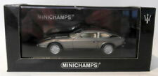 Modellini statici di auto, furgoni e camion MINICHAMPS in resina per Maserati