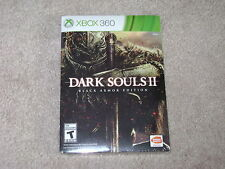 DARK SOULS II BLACK ARMOR EDITION...XBOX 360...**SEALED**BRAND NEW**!!!!!