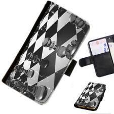Fundas y carcasas color principal negro de piel sintética para teléfonos móviles y PDAs Sony