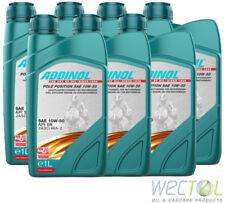 7x1 Liter Addinol Pole Position SAE 10W-50 4 Takt Motorenöl Motorradöl