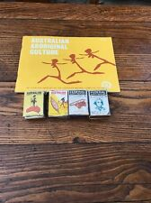 Vintage Lot Of Federal And Aboriginal Match Boxes Aboriginal Culture Booklet