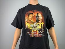 VTG 90s WCW Wwf 1998 The Rock And Stone Cold Steve Austin Wrestle mania T Shirt