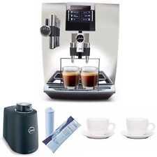 Jura Impressa J90 Super Fully Automatic Espresso Machine + Jura Milk Container.