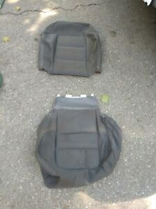 01-05 Ford Explorer Sport Trac drivers cloth seat covers base back Dark gray OEM