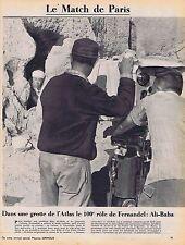 Coupure de presse Clipping 1954 Fernandel dans Ali-Baba (1 page)