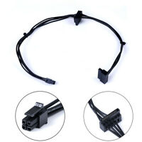 45CM Mini 4 Pin to 2 Sata SSD power supply cable for lenovo M410 M610 M415KC