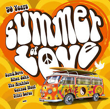 CD 50 Années Summer Of Love d'Artistes divers