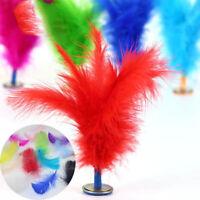 100pcs Large Fluffy Turkey Feather 10-15cm Card Making Crafts Embellishments New
