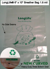 25 - 6 X 10 LongLife® Nano Breather Bags + Kordon Alternative & Usa Seller +