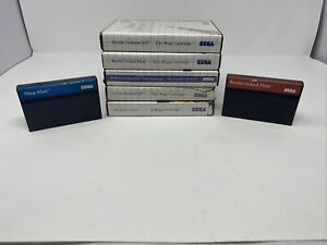 7 Game Sega Master System Game Lot     Slap Shot Blue Label