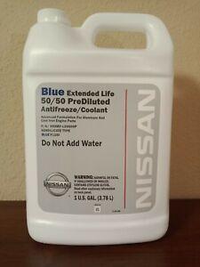 Genuine Nissan Fluid 999MP-L25500P Blue Coolant Extended Life Antifreeze