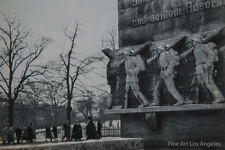"Henri Cartier Bresson Photo ""WW1 Monument""  Hamburg, Germany, 1955 Gravure"