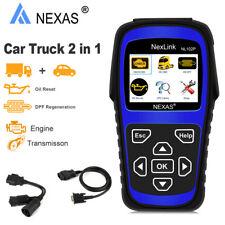 Heavy Truck Diesel Scanner Check Engine DPF Oil Light Rest Diagnostic Tool Kit