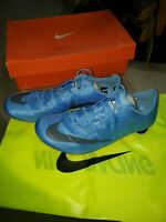 Nike Zoom Superfly Elite Racing Track Spikes Blue mens Sz 12 NEW w bag n box