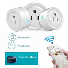 WiFi Smart Remote Control Timer Switch Socket Works With Amazon Alexa US PLUG