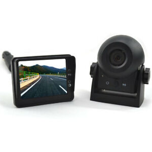 Wireless Magnetic Battery Powered Portable Car Rear View Reverse Backup Camera