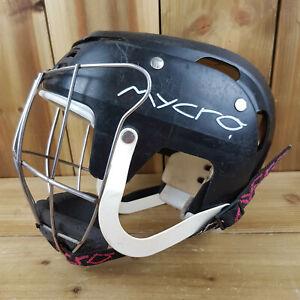 *Read* Mycro Hurling Helmet Camogie Size Small 51cm GAA Gaelic Gear Black Xtra L