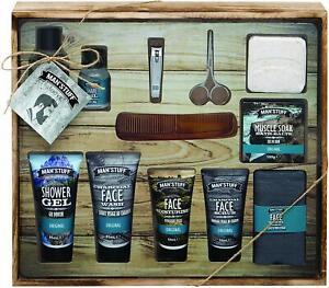 Man'Stuff Toiletry Set Man Mega Drawer Bath And Body Xmas Gift For Men Technic