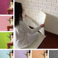 70X7.5cm Stone Brick Pattern 3D PE Foam Self-adhesive Wall Sticker Home Decor