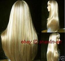 Wigs,brun blonde long femme santé cosplay Costume cheveux perruques