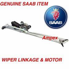 GENUINE SAAB 9-3 4&5 DOOR & CV WINDSCREEN WIPER LINKAGE & MOTOR - 12755305 - NEW
