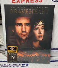 New Braveheart 4K Uhd+Blu-Ray Full Xl Slip Steelbook! Filmarena Black Baron 19