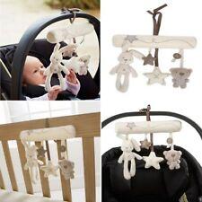 2016 Newborn Baby Pram Bed Bells Soft Hanging Toys Animal Handbells Rattles LA