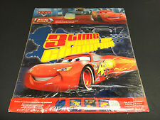 Disney Pixar Cars removable 3D self-stick wall decal appliques over 15 stickers