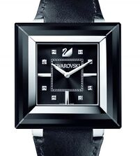 SWAROVSKI ROCK 'N' LIGHT LIMITED EDITION LADIES WATCH CRYSTAL BLK 1047355 $950