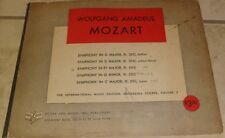 Mozart 1939 Orchestra Scores Volume 5 Symphony in D Major, G Minor C Major, Eb