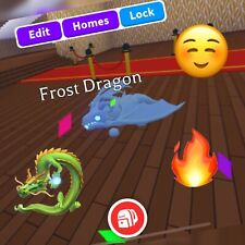 🐉Adopt Me FLY+RIDE FROST DRAGON🐉 --- CHEAP -- FAST DELIVERY ✅