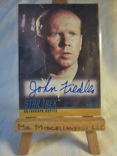 Star Trek Original Series Season Two autograph A40 John Fiedler Hengist