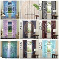 Indian Mandala 5 Pcs Curtain Wholesales Lot Hippie Bohemian Window Valance Throw