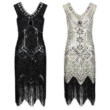 Ro Rox 1920's Great Gatsby Peaky Blinders Costume Flapper Sequin Cocktail Dress