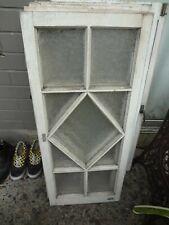 2 x Vintage Gorgeous Queenslander Casement Windows (45cm x 106.5cm)