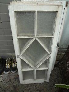 2 x Vintage Gorgeous Queenslander Casement Windows (45cm x 106.5cm) #3