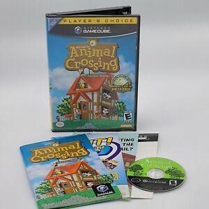 Animal Crossing Players Choice Nintendo GameCube 2002 No Memory Card Free Ship