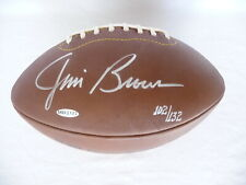 JIM BROWN UPPER DECK AUTHENTICATED SIGNED AUTOGRAPHED HOF NFL FOOTBALL