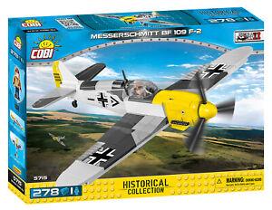 Messerschmitt Bf 109 - COBI 5715 - 278 brick fighter aircraft - New