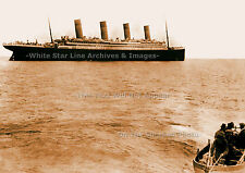 Photo SEPIA: 5x7: One Of The Last Photos Ever Taken Of The RMS Titanic. 1912