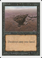 Sinkhole - UNLIMITED Edition - Old School - MTG Magic The Gathering